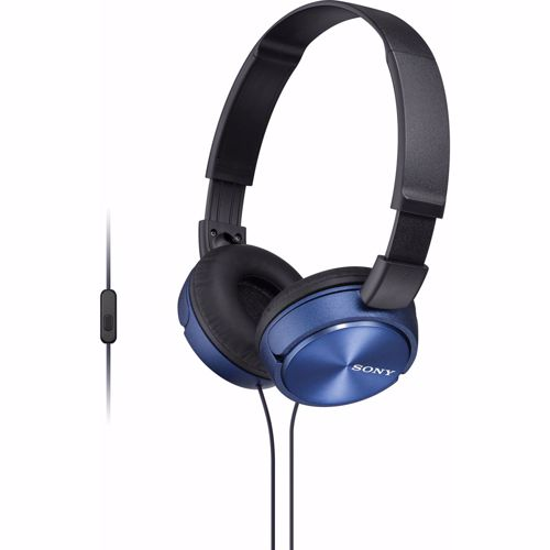 Sony hoofdtelefoon MDRZX310APL BLK/BLUE