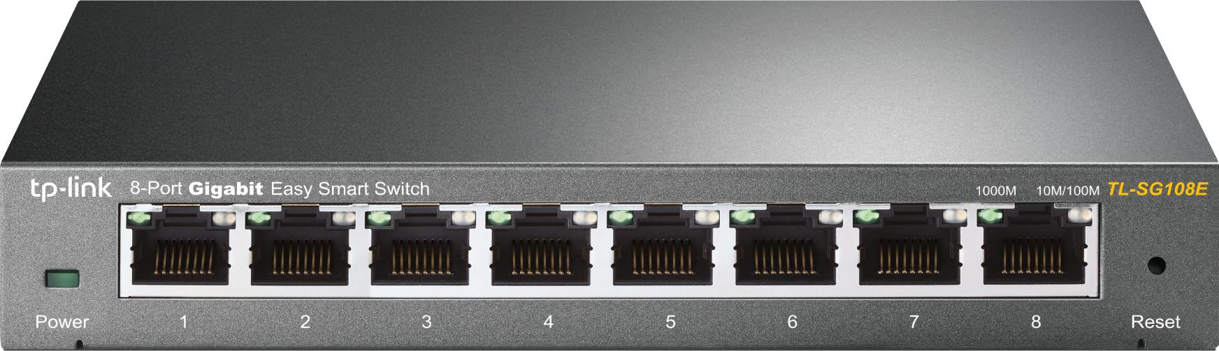 Tp link netwerk switch TL SG108E