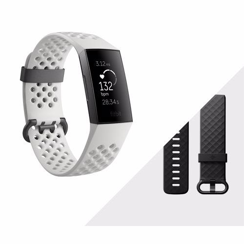 Fitbit Charge 3 activiteitstracker met NFC (Grijs/Wit)
