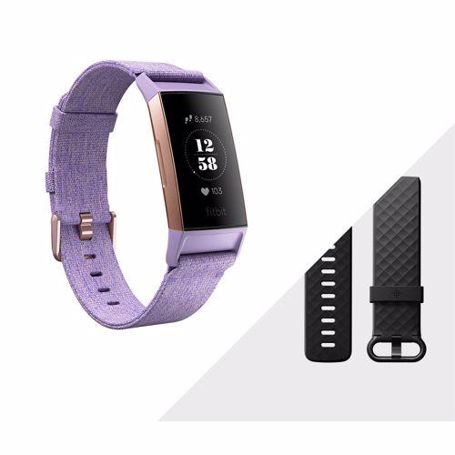 Fitbit Charge 3 activiteitstracker met NFC (Goud/Paars)