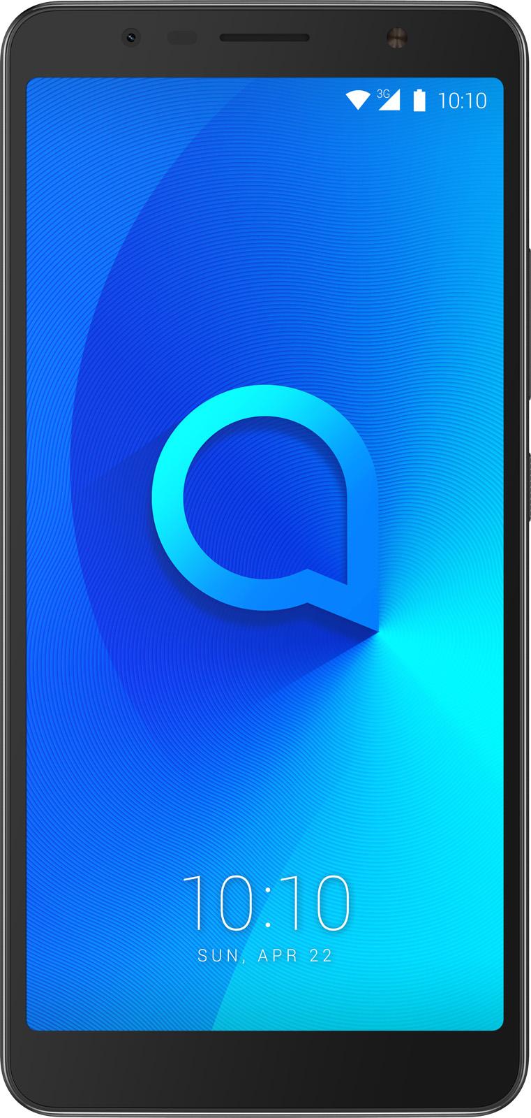 Alcatel smartphone 3C Dual SIM Zwart