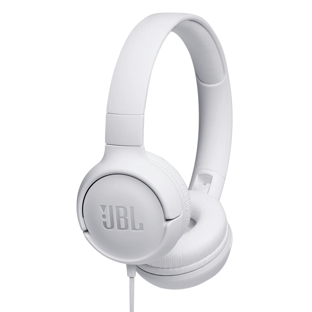 JBL on-ear hoofdtelefoon Tune 500 T500WHT (Wit)