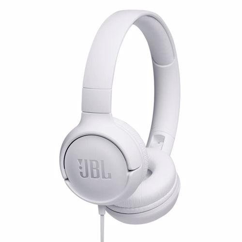 JBL on-ear hoofdtelefoon Tune 500 T500WHT (Wit)