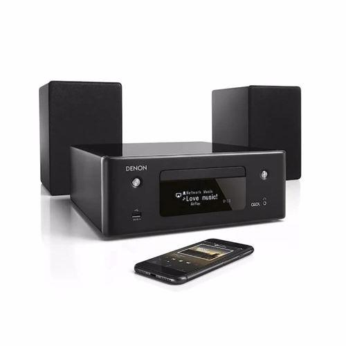 Denon microset CEOL N10 (Zwart) Incl. Stereo Speakers
