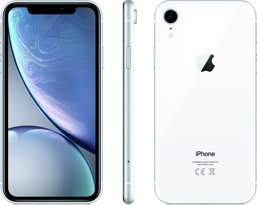 Apple iPhone Xr 256GB (Wit)