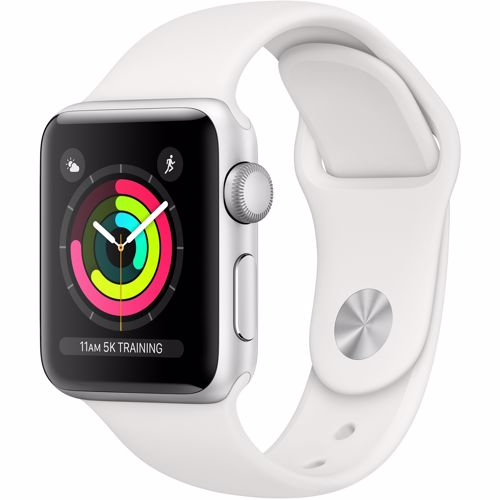 Apple smartwatch Serie 3 38mm (Zilver)