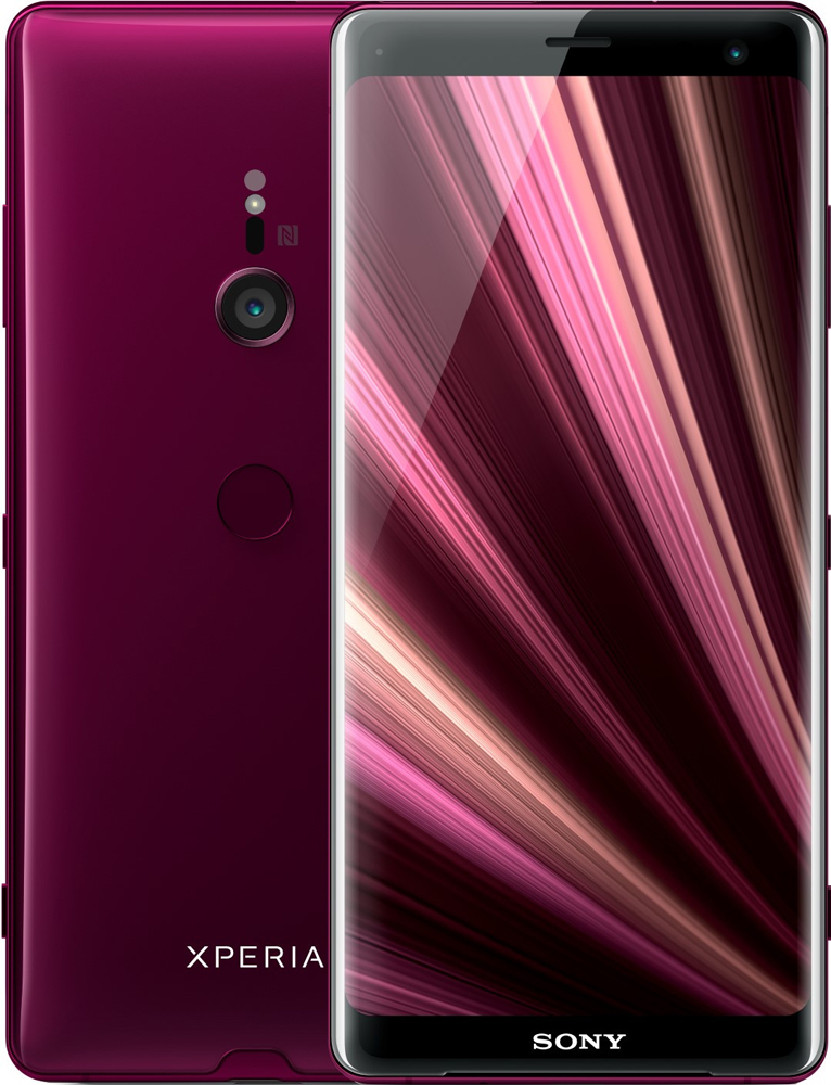 Sony smartphone Xperia XZ3 DualSIM Rood