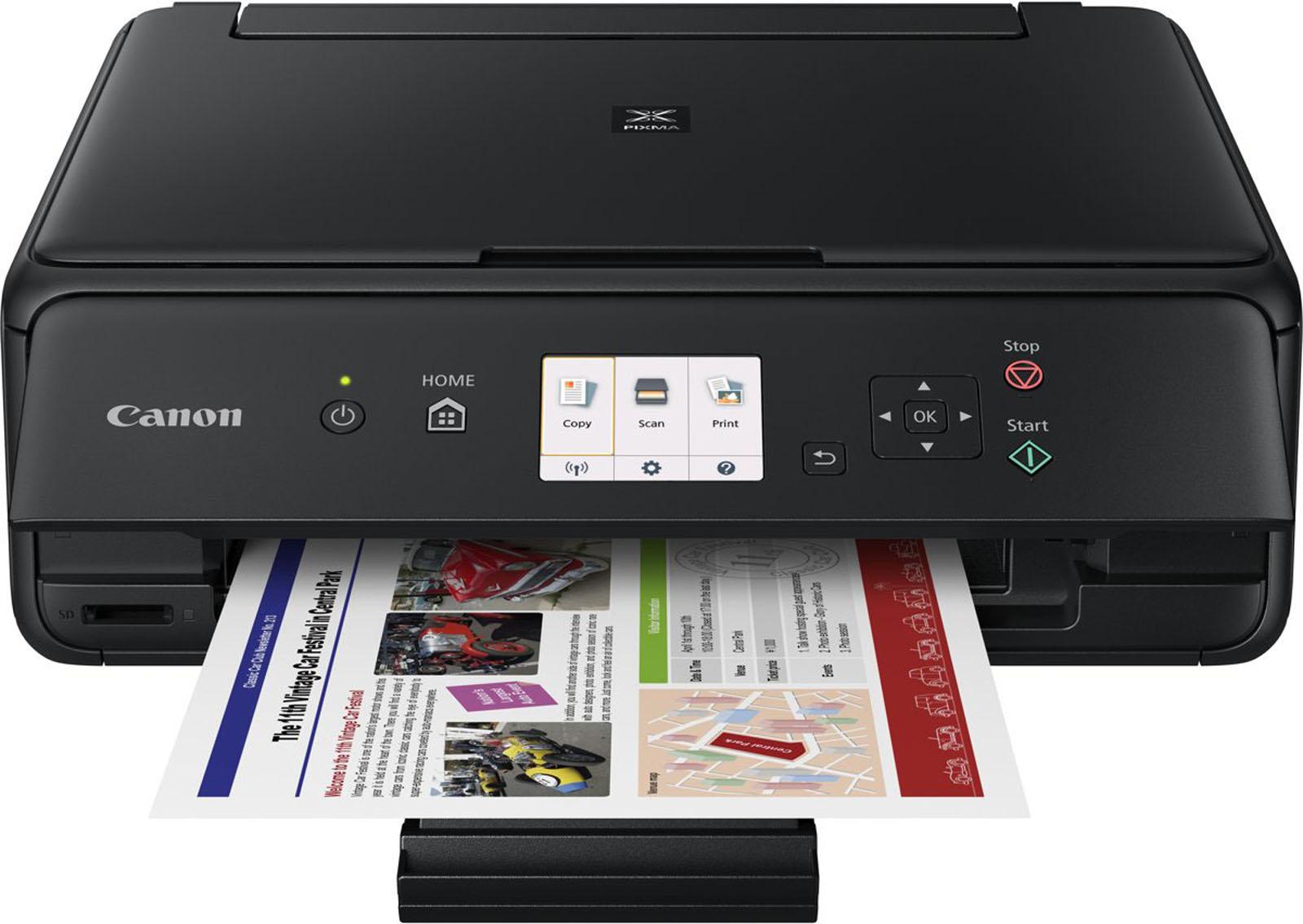 Canon all-in-one printer PIXMA TS5055 (Zwart)