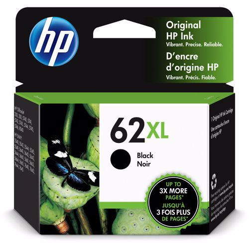 HP cartridges 62 XL (zwart) 888182461952