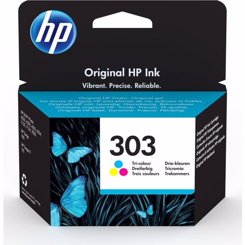 HP cartridges 303 (kleur) 190780570975
