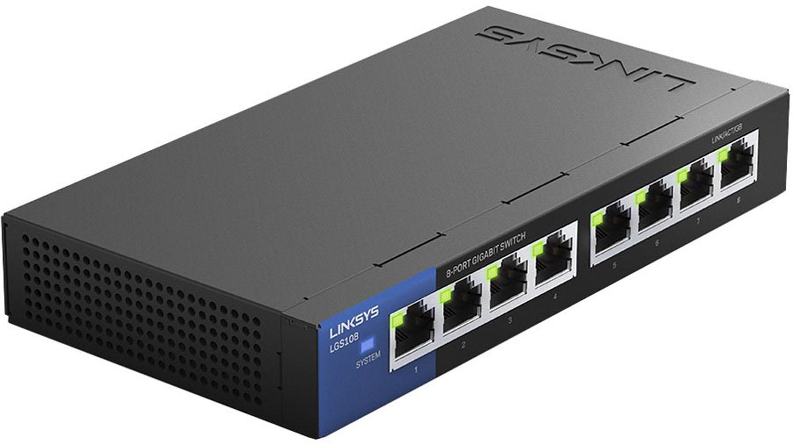 Linksys netwerk switch LGS108 EU RTL