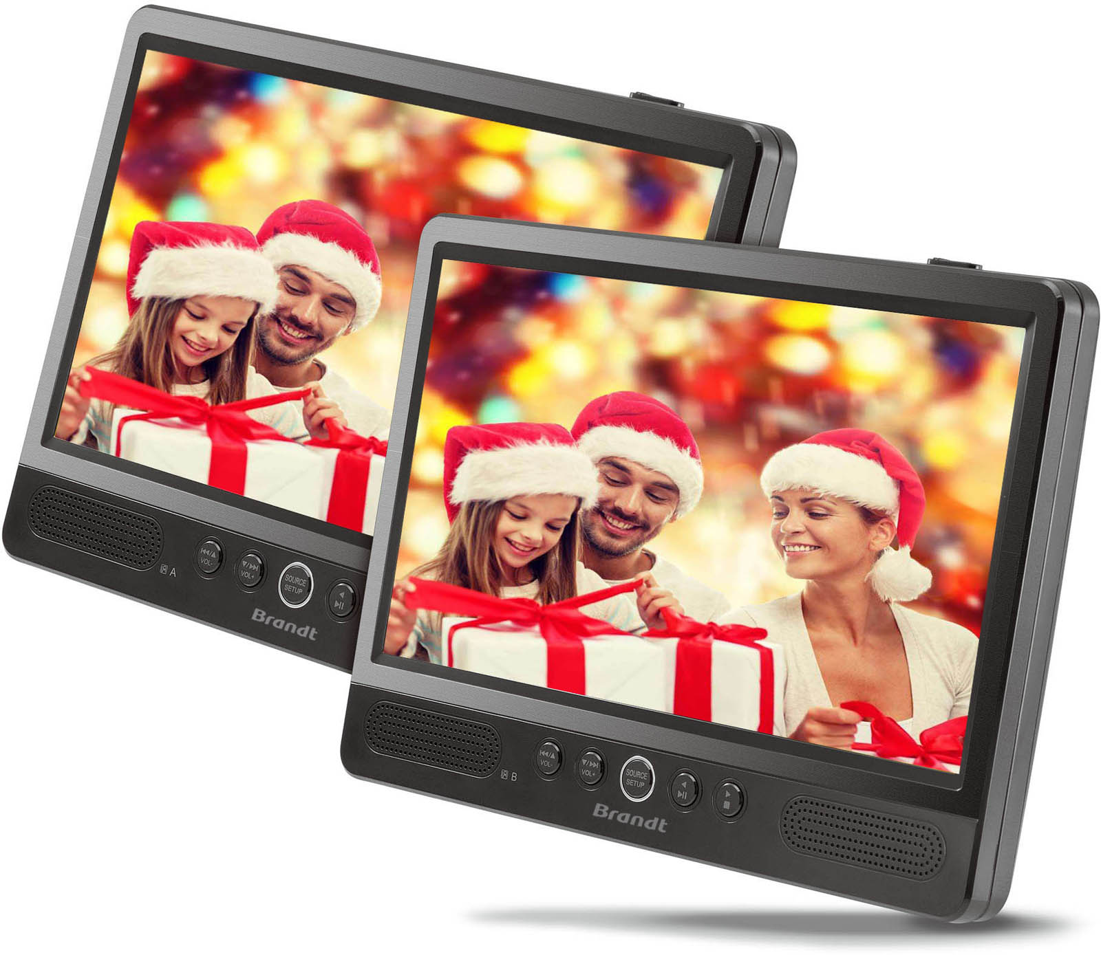 Brandt portable DVD speler DVDP101X2
