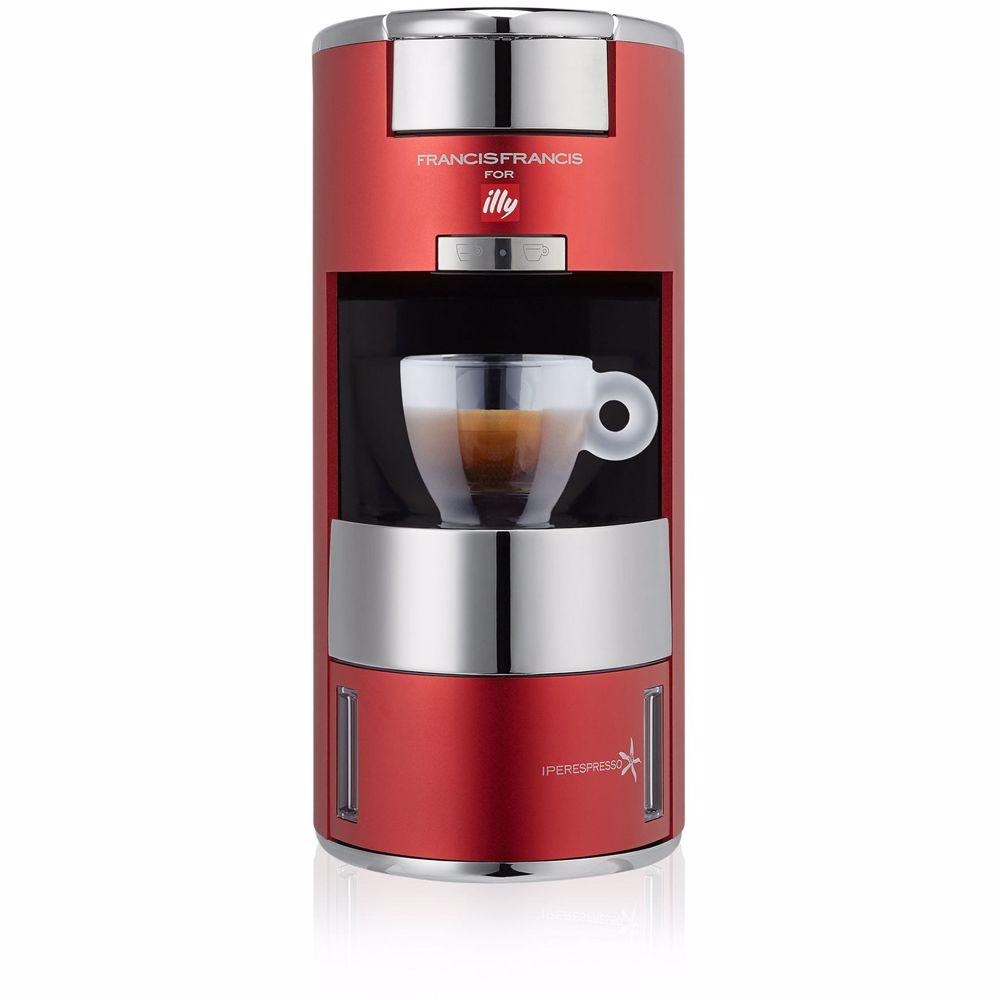 illy koffieapparaat X9 (Rood)