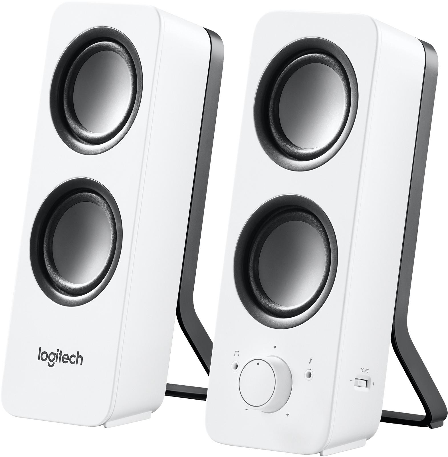 Logitech PC speakersysteem Z200 (Wit)