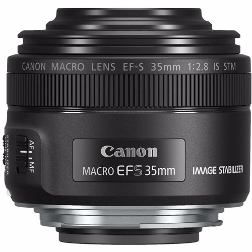 Canon objectief EF-S 35MMF/2.8 MACRO IS STM