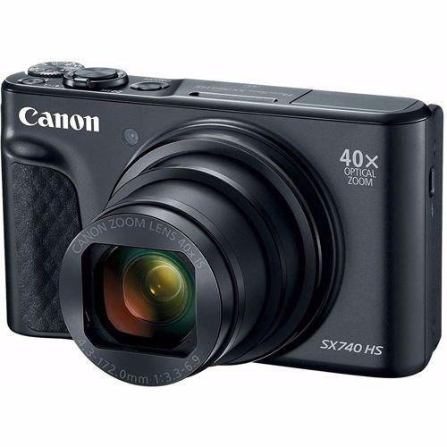 Canon compact camera Powershot SX 740 HS Zwart