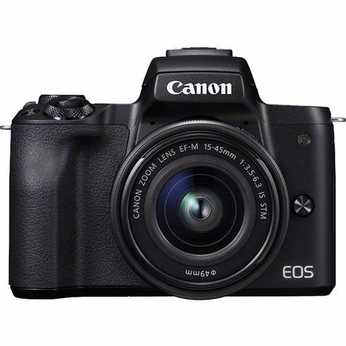 Canon systeemcamera EOS M50 + EF-M15-45S lens 4549292108910