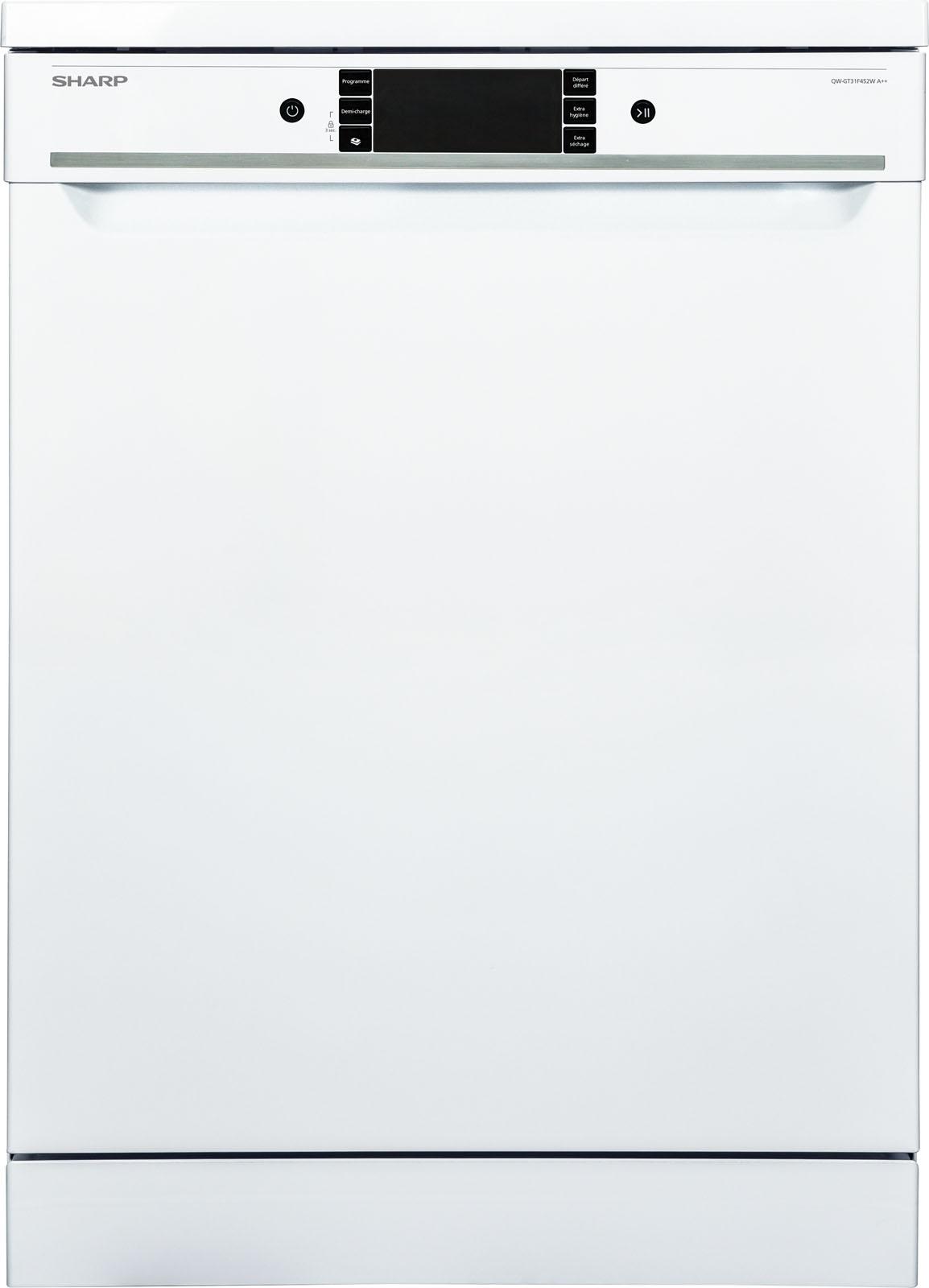 Sharp vaatwasser QWGT31F452WDE