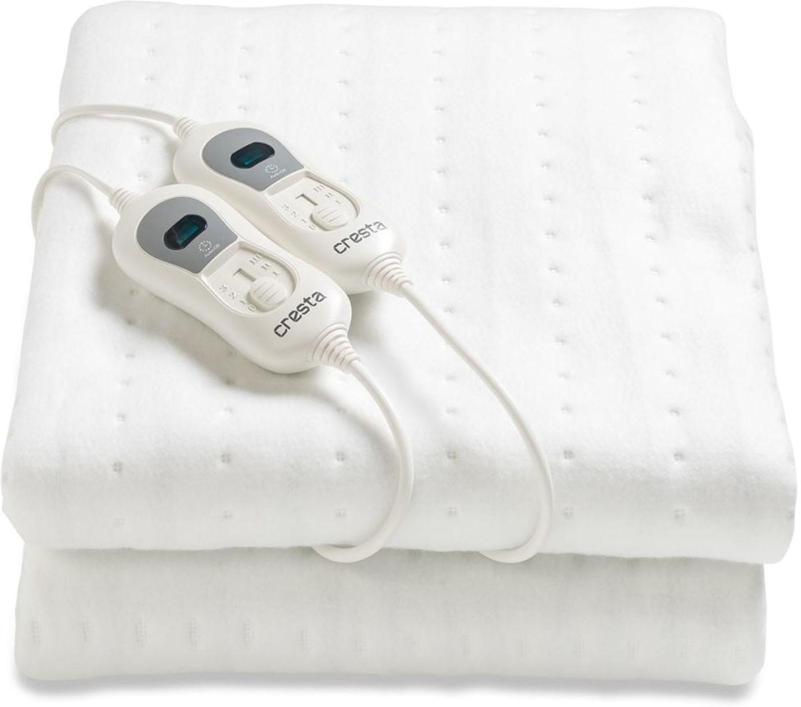 Cresta elektrische deken KTS120 (Wit) - Prijsvergelijk