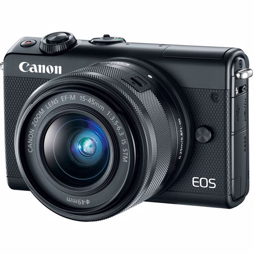 Canon systeemcamera EOS M100 BK + 15-45 IS 8714574654539