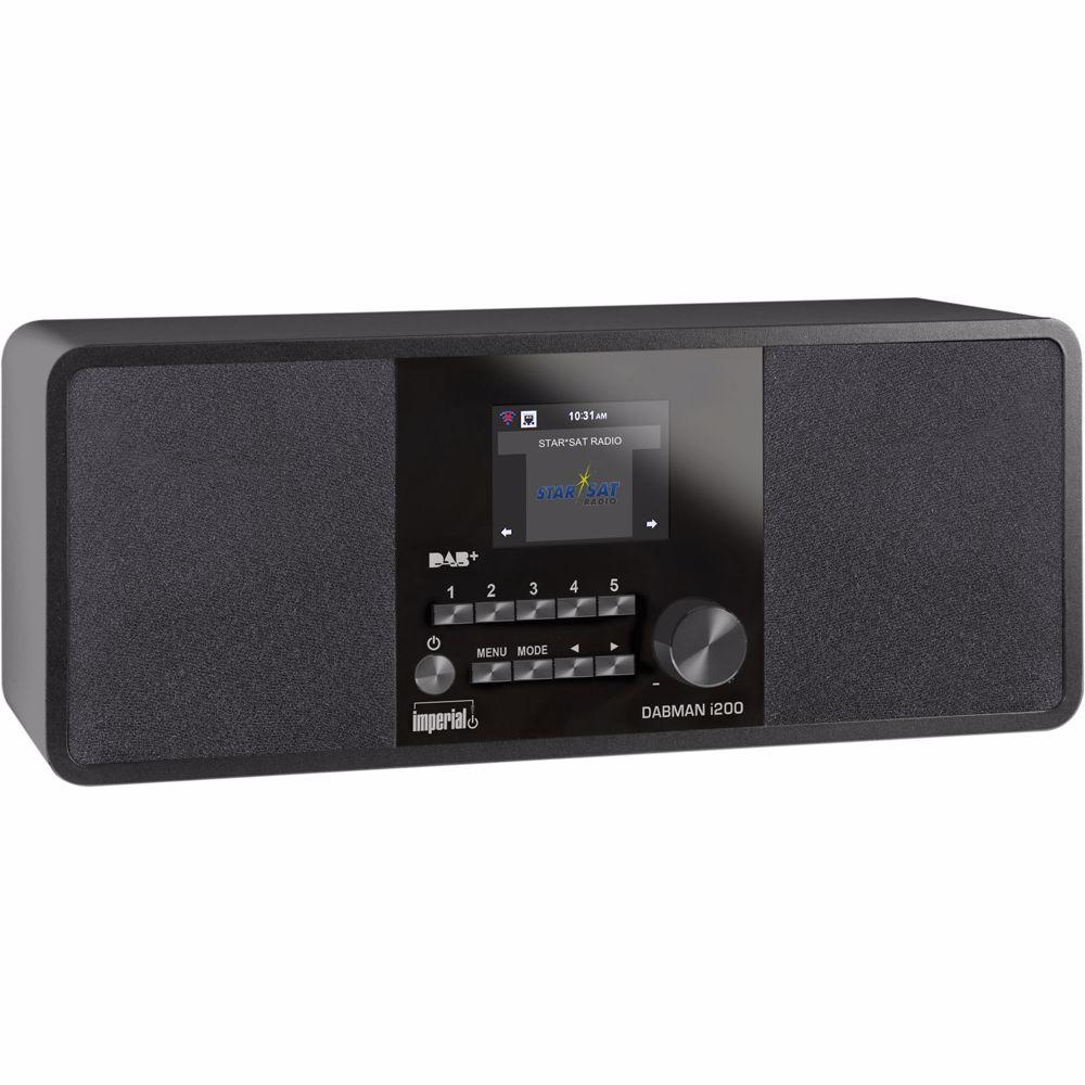 Imperial DAB radio DABMAN I200 (Zwart)