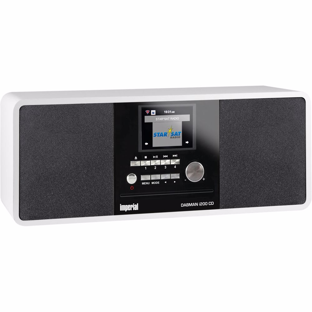 Imperial DAB radio DABMAN I200 CD (Wit)