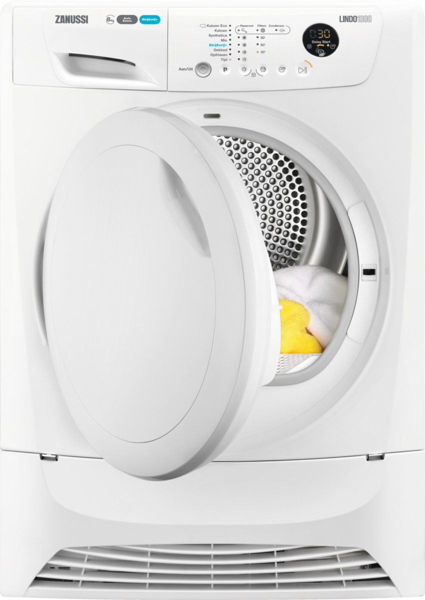 Zanussi AutoSense warmtepompdroger ZDH8345NW