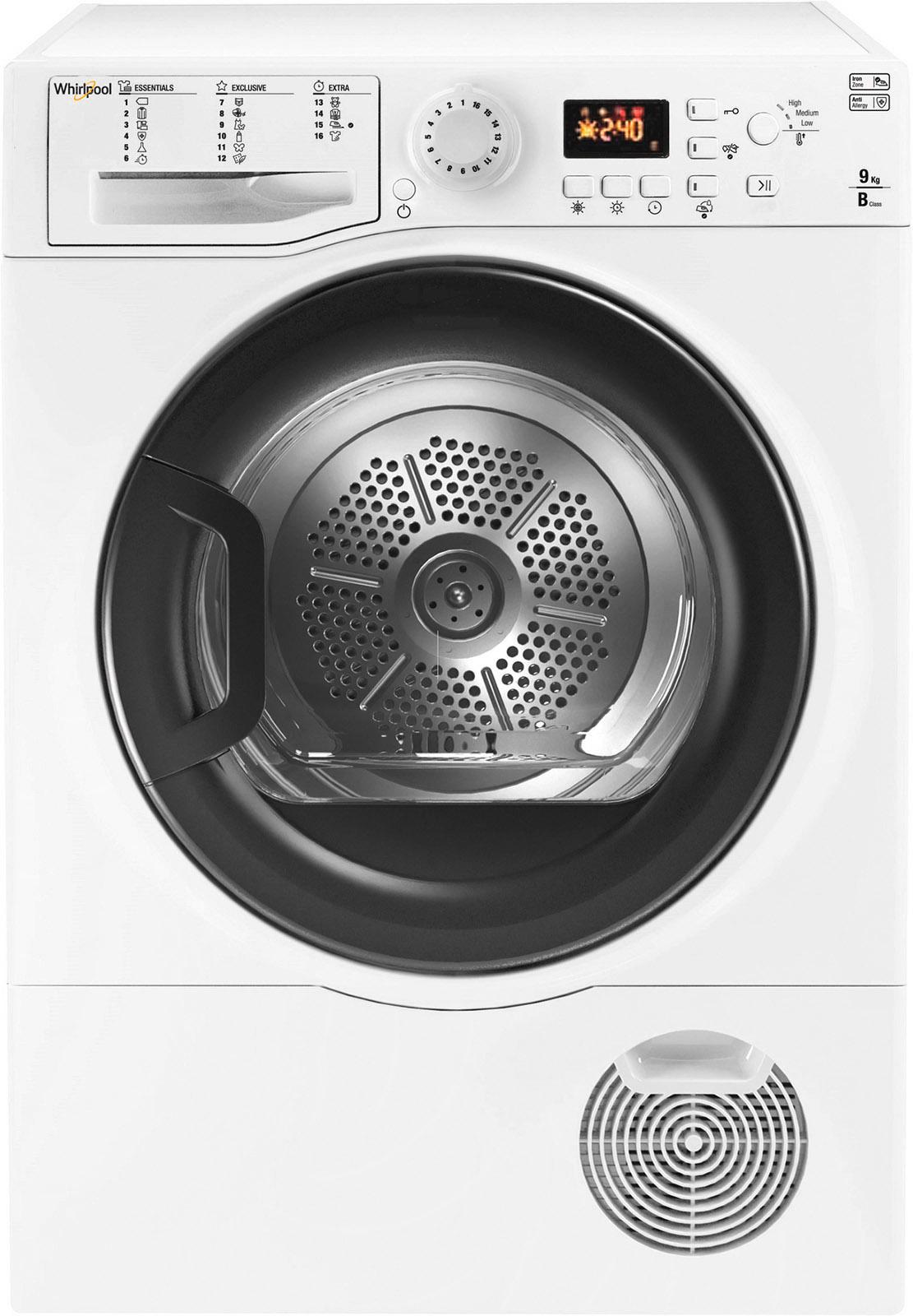 Whirlpool condensdroger WTD 950B BK EU