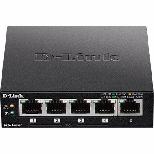 D Link netwerk switch DES 1005P