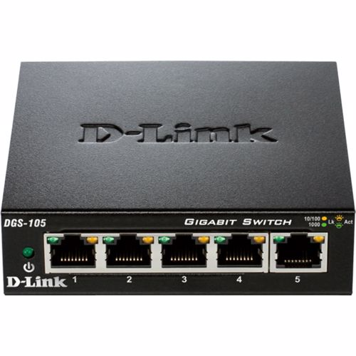 D Link netwerk switch DGS 105