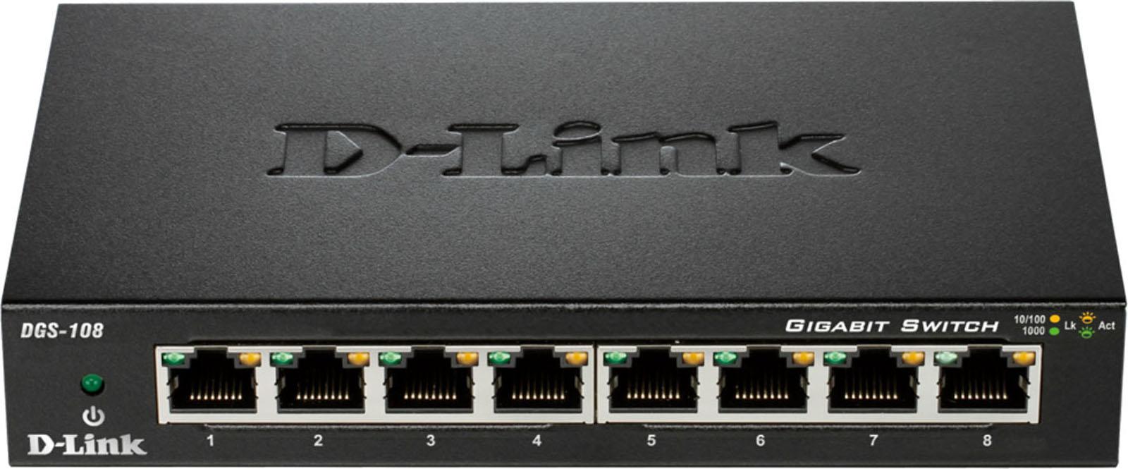 D Link netwerk switch DGS 108