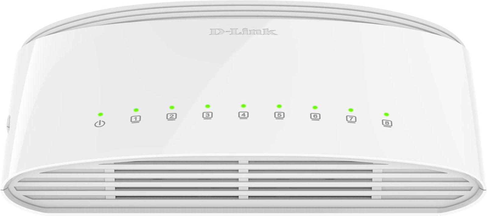 D Link netwerk switch DGS 1008D