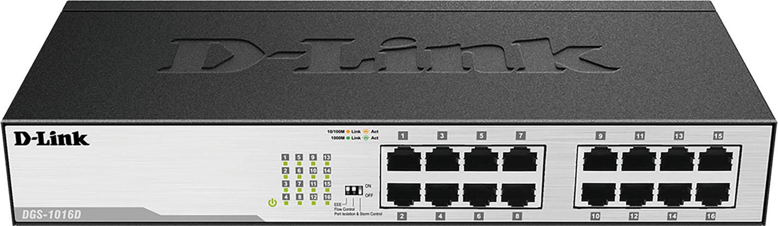 D Link netwerk switch DGS 1016D