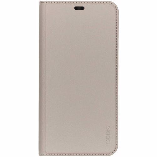 Nokia telefoonhoesje Slim Flip - Nokia 8.1 (Grijs)
