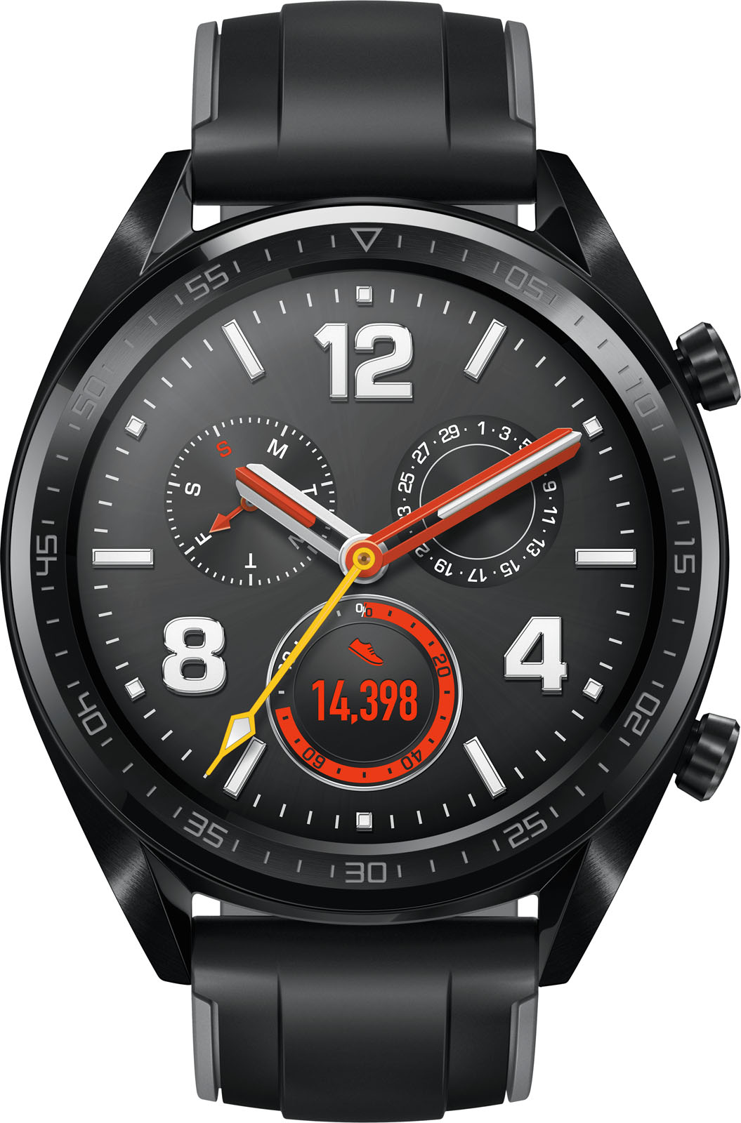 Huawei smartwatch HUAWEI WATCH GT Zwart