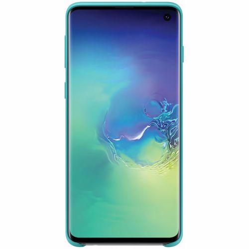 Samsung telefoonhoesje Silicone Cover Galaxy S10 (Groen)