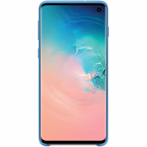 Samsung telefoonhoesje Silicone Cover Galaxy S10 (Lichtblauw)