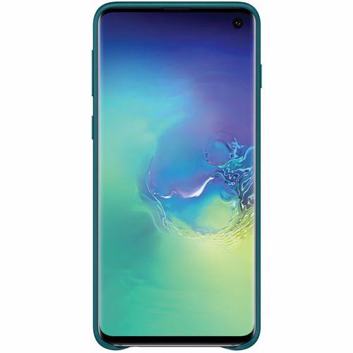 Samsung telefoonhoesje Lederen Cover voor Galaxy S10 (Groen)