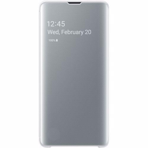 Samsung telefoonhoesje Clear View Cover voor Galaxy S10 (Wit)
