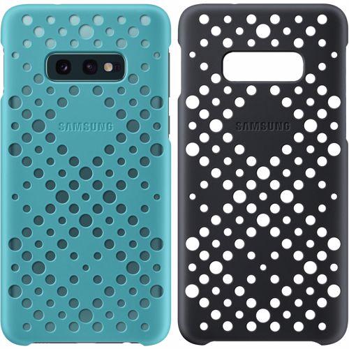 Samsung Pattern Cover voor Galaxy S10E 2 stuks Zwart Groen