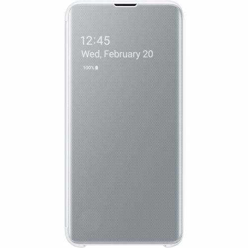 Samsung telefoonhoesje Clear View Cover voor Galaxy S10E (Wit)