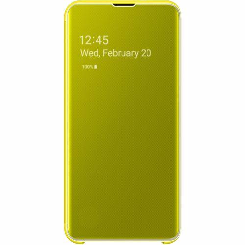 Samsung telefoonhoesje Clear View Cover voor Galaxy S10E (Geel)