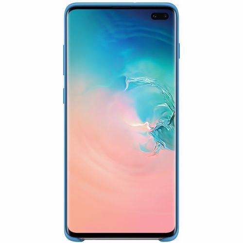 Samsung telefoonhoesje Silicone Cover Galaxy S10+ Lichtblauw