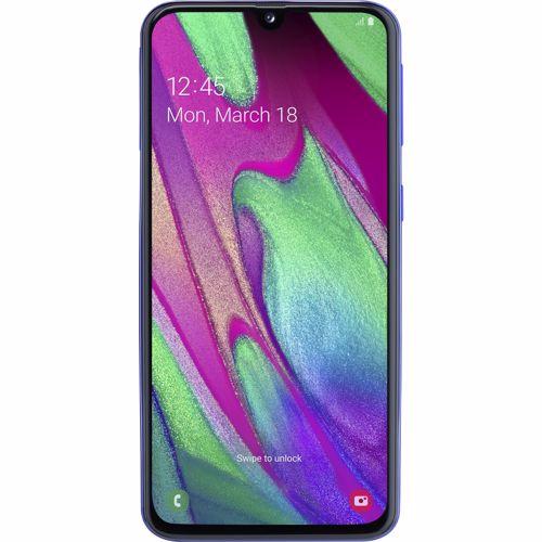 Samsung Galaxy A40 Blauw