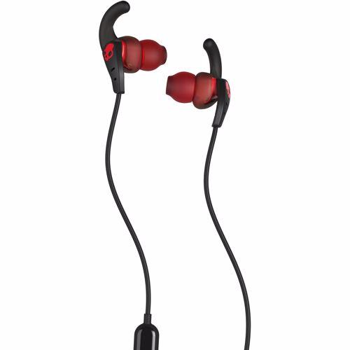 Skullcandy in-ear hoofdtelefoon Set (Zwart/Rood)