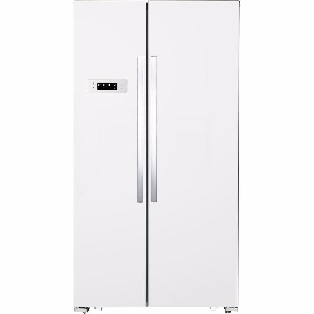 Exquisit Amerikaanse koelkast SBS130-4A+WIT