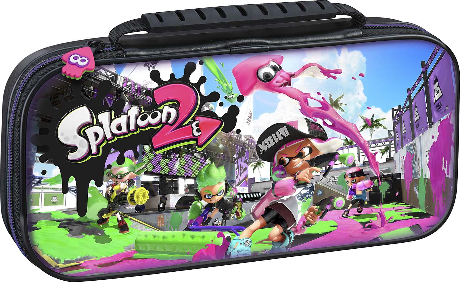 Bigben Officiële Nintendo Switch travelcase Splatoon