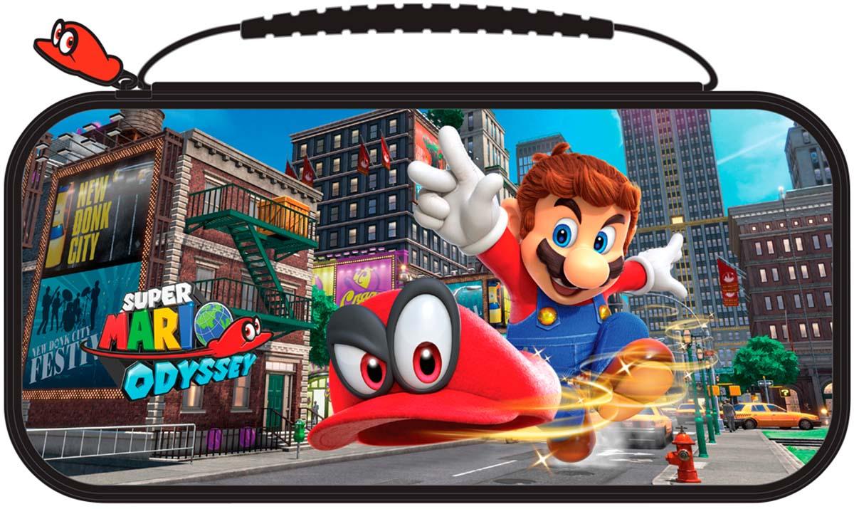 Bigben Officiële Nintendo Switch travelcase Super Mario Odyssey