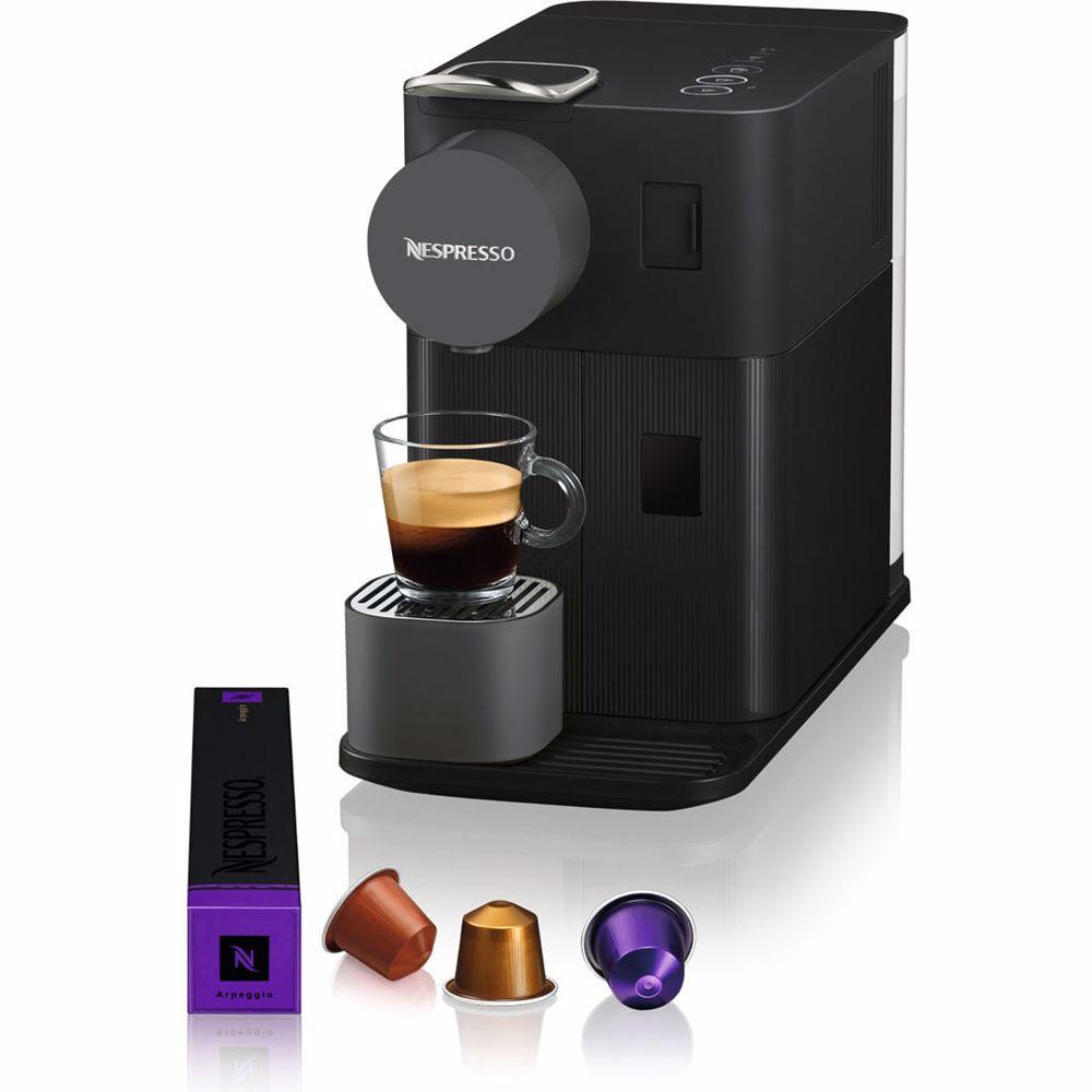 Nespresso DeLonghi koffieapparaat Lattissima One EN500 (Zwart)