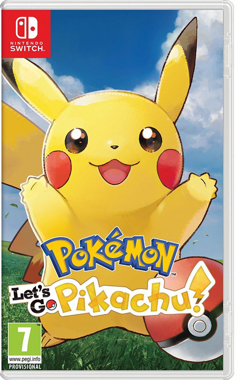 Pokemon Let apos;s Go Pikachu Switch